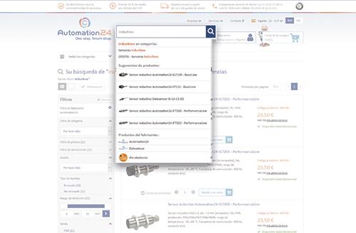 Nueva tienda online - Diseño moderno con servicio probado