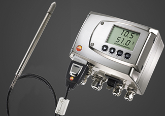 Testo 6681, transmisor de humedad para aplicaciones industriales