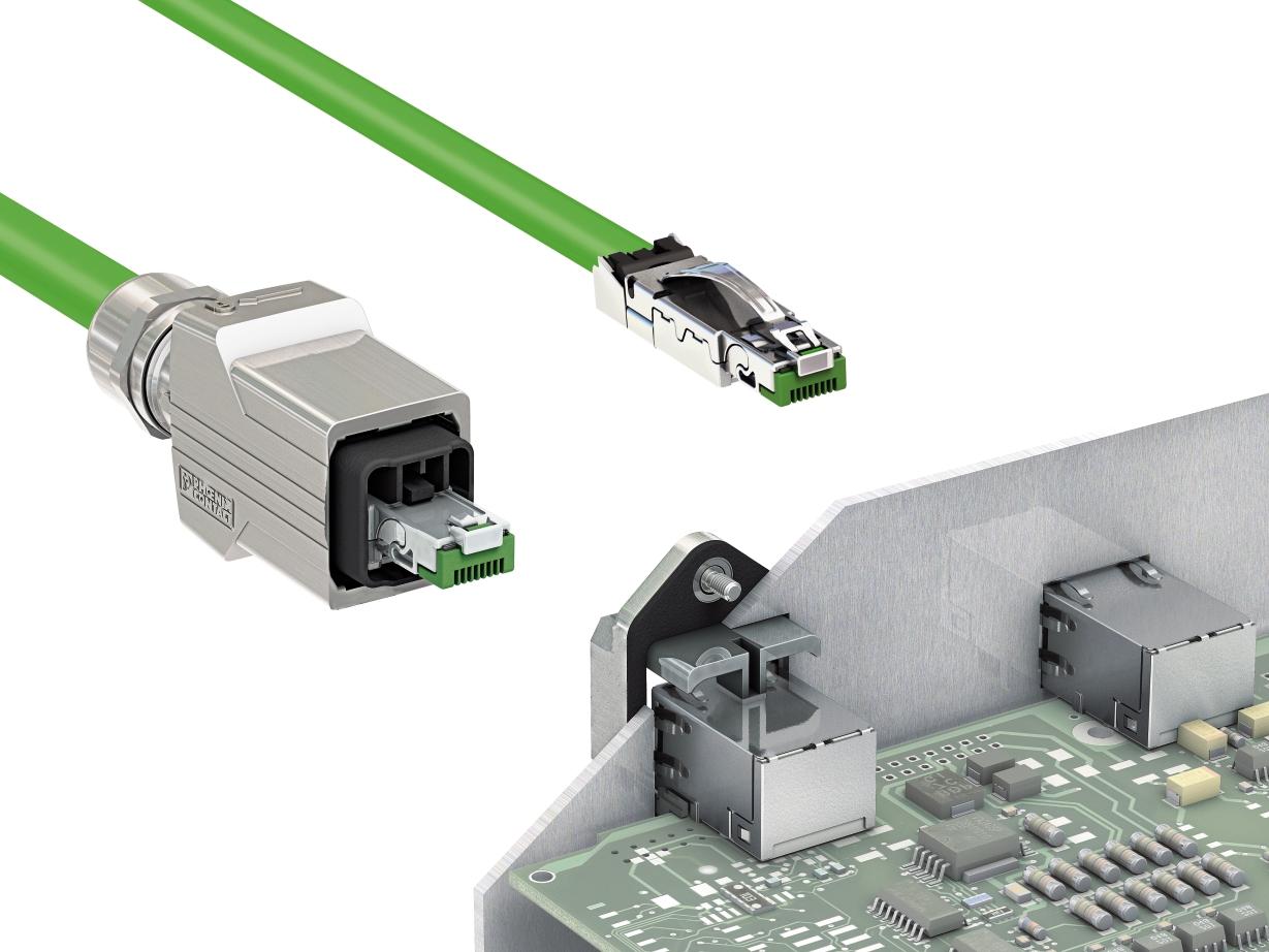 RS distribuye nuevos conectores RJ45 de Phoenix Contact