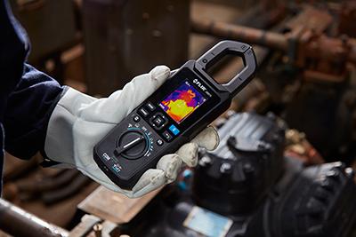Gama de productos termográficos y de prueba y medida FLIR para aplicaciones de mantenimiento